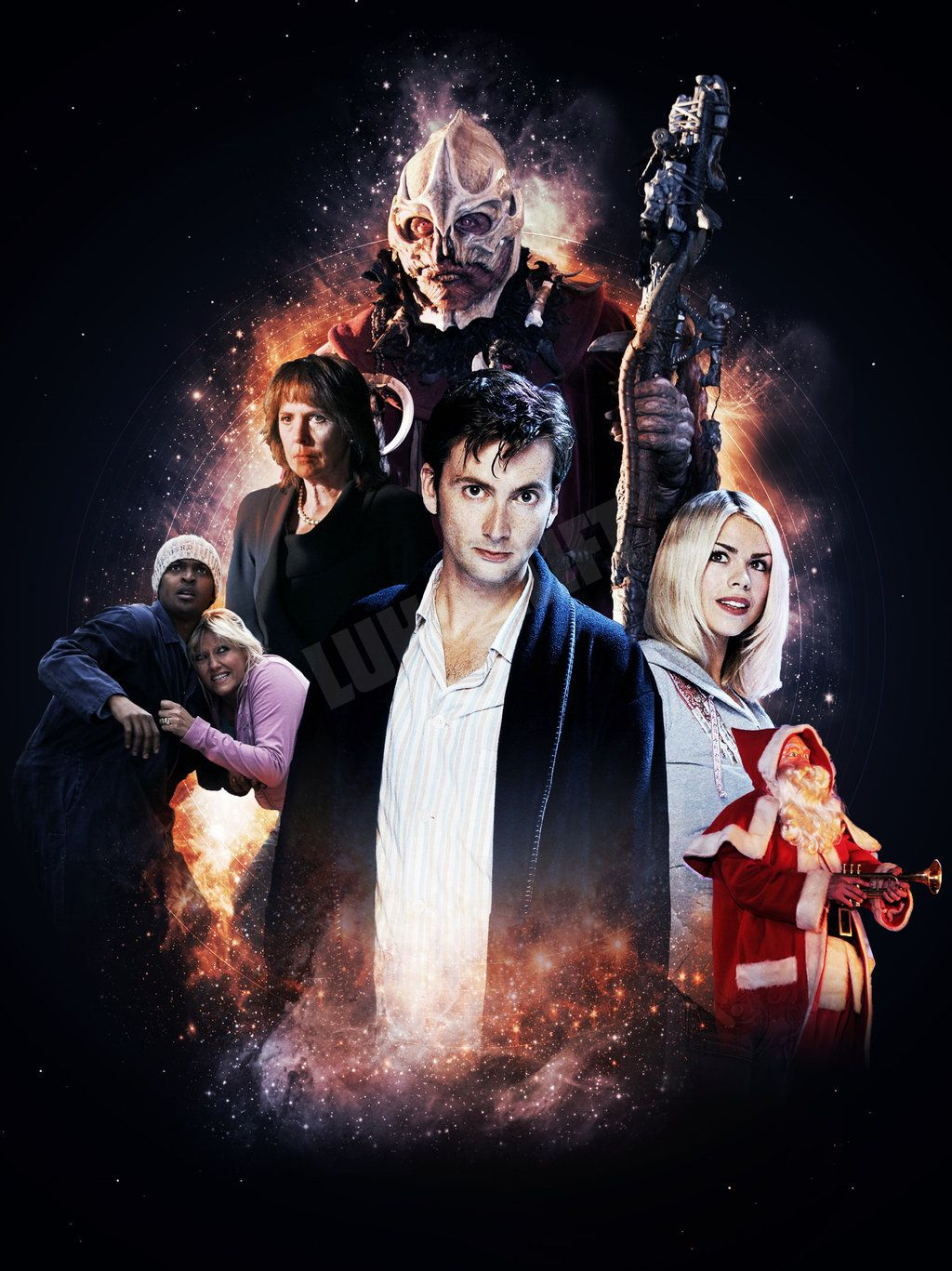 Doctor Who The Christmas Invasion.The Christmas Invasion Doctor Who Christmas Holiday