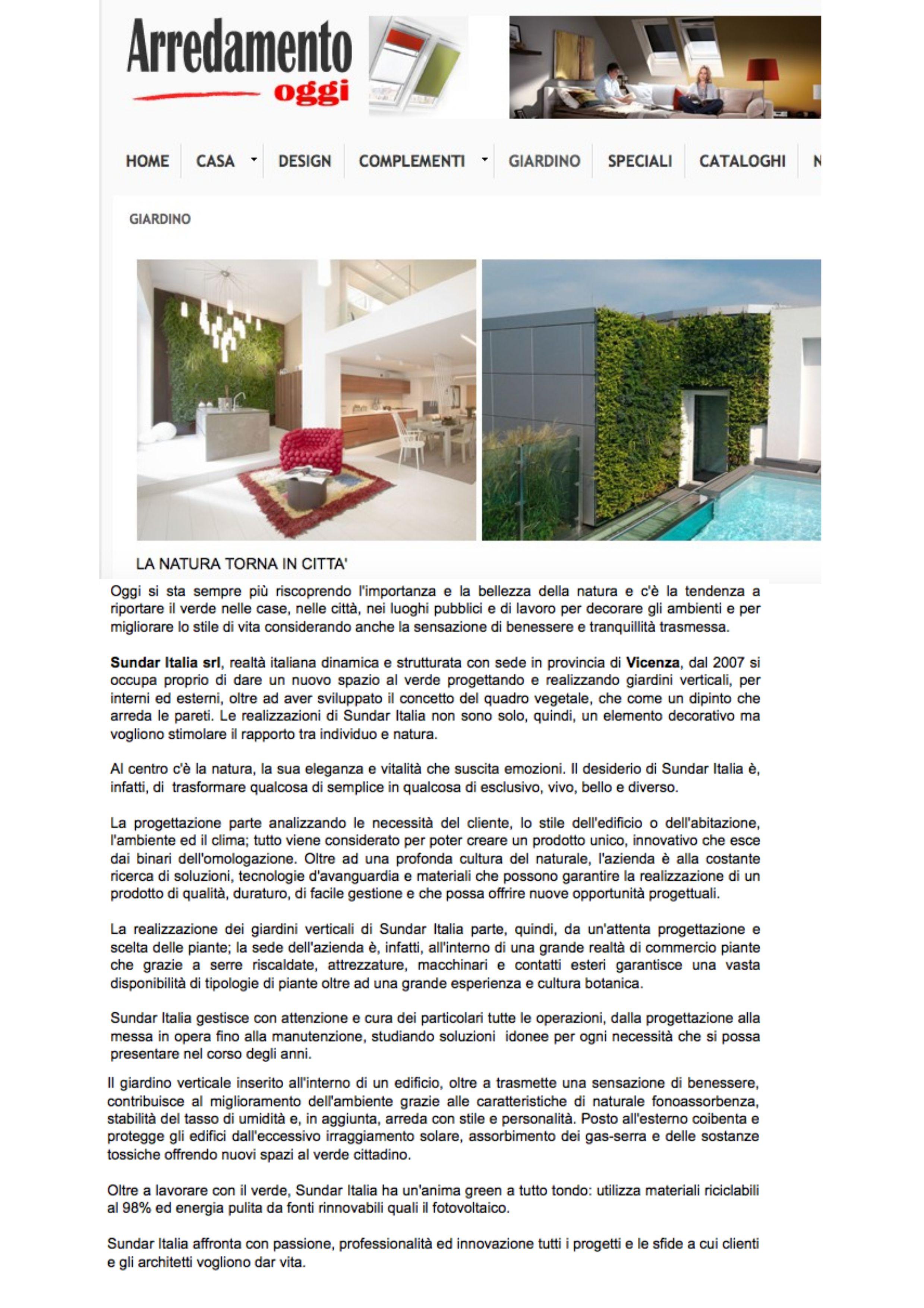 Re Desiderio Arredo Giardino.Designerblog Www Sundaritalia Com News Articles Events