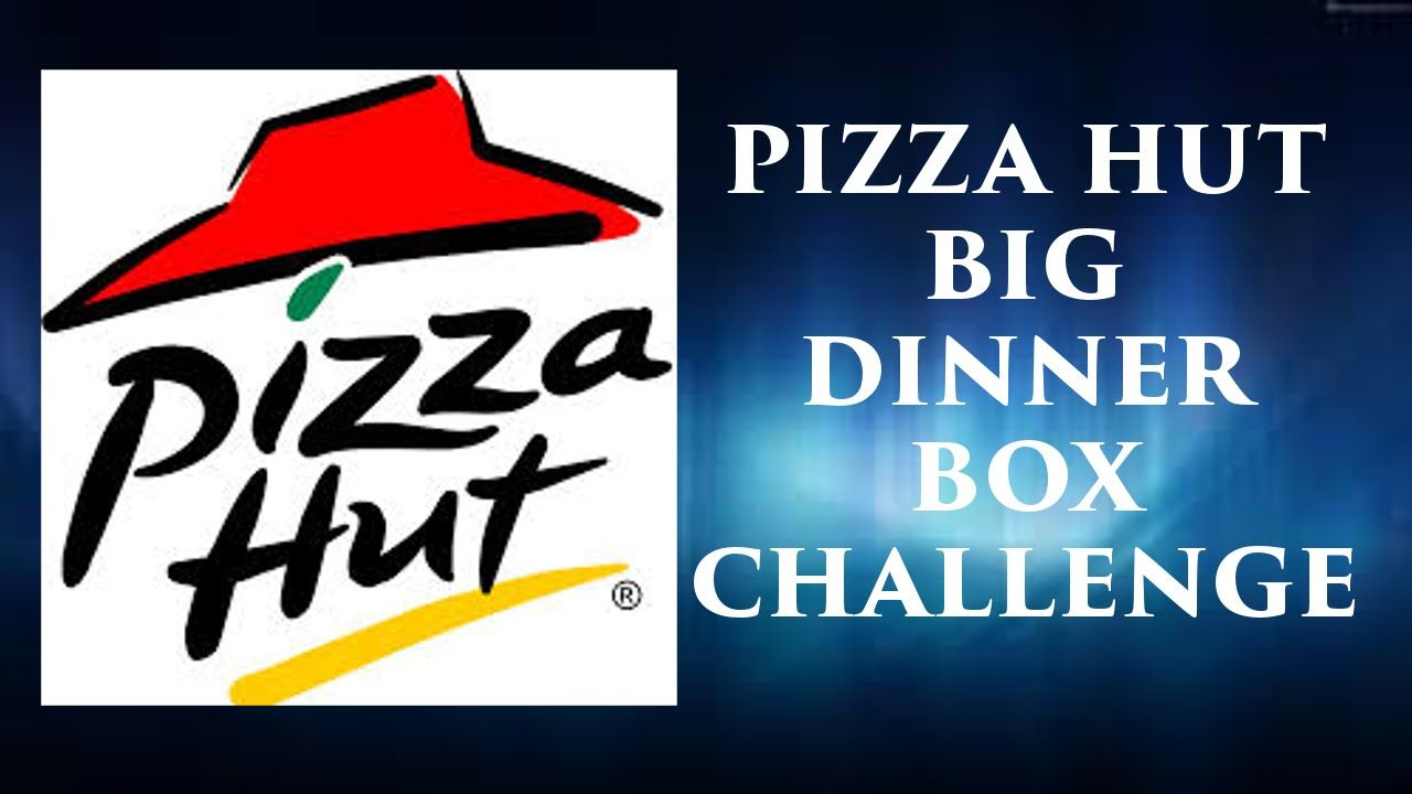 Pizza Hut Big Dinner Box Challenge One Man One Big Pizza Box Can I Eat It All In One Sitting Dinner Box Pizza Hut Big Pizza