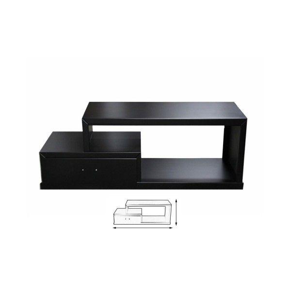 Mesa Para Tv Modernista De Madera Mdf Modelo Belice