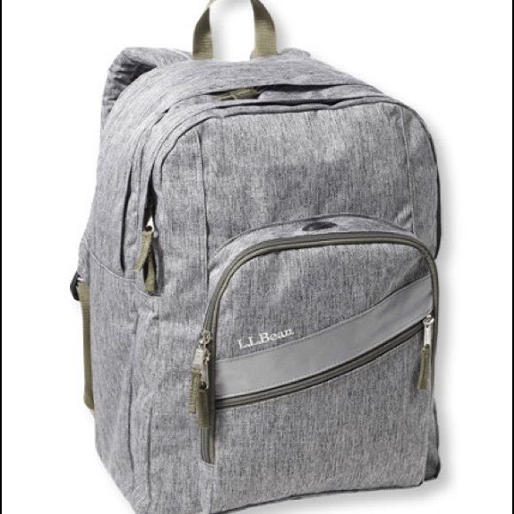 Iso Heathered Grey Ll Bean Bookbag I Didnt Order It In Time And