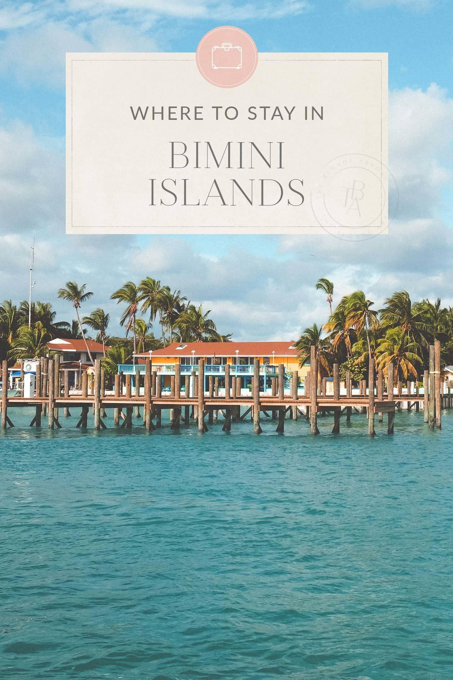 8ea35fa5cdd0 The Ultimate Bimini Islands Travel Guide • The Blonde Abroad