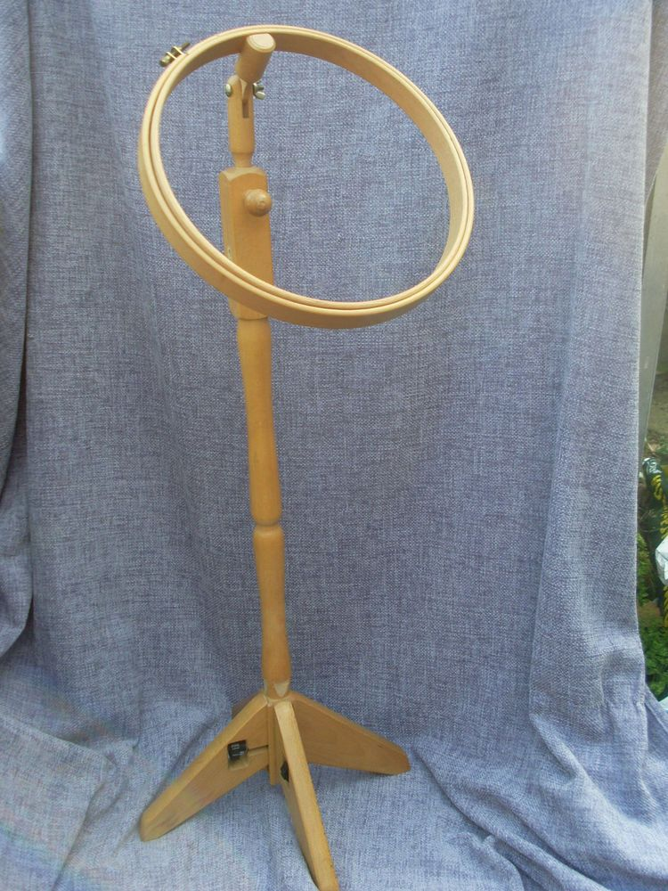 Free Standing, Adjustable Cross Stitch / Embroidery Frame (Hoop ...