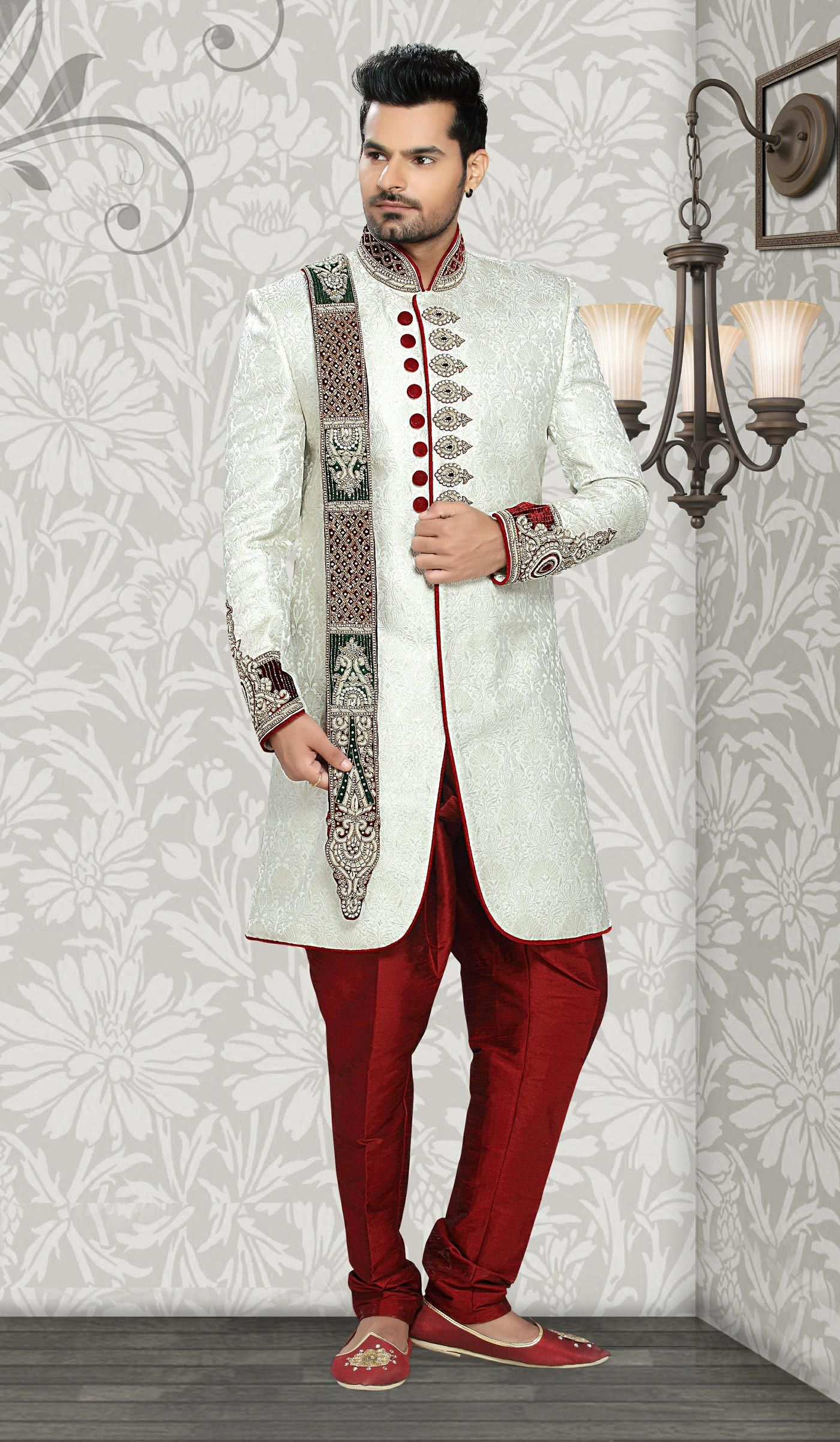indo western suits for groom - Google Search | Groom attire ...