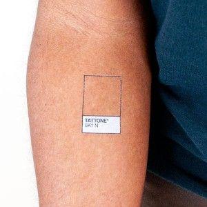 Tattone Tattoo by Tattly so cool and ironic!! #pantone #tattoo