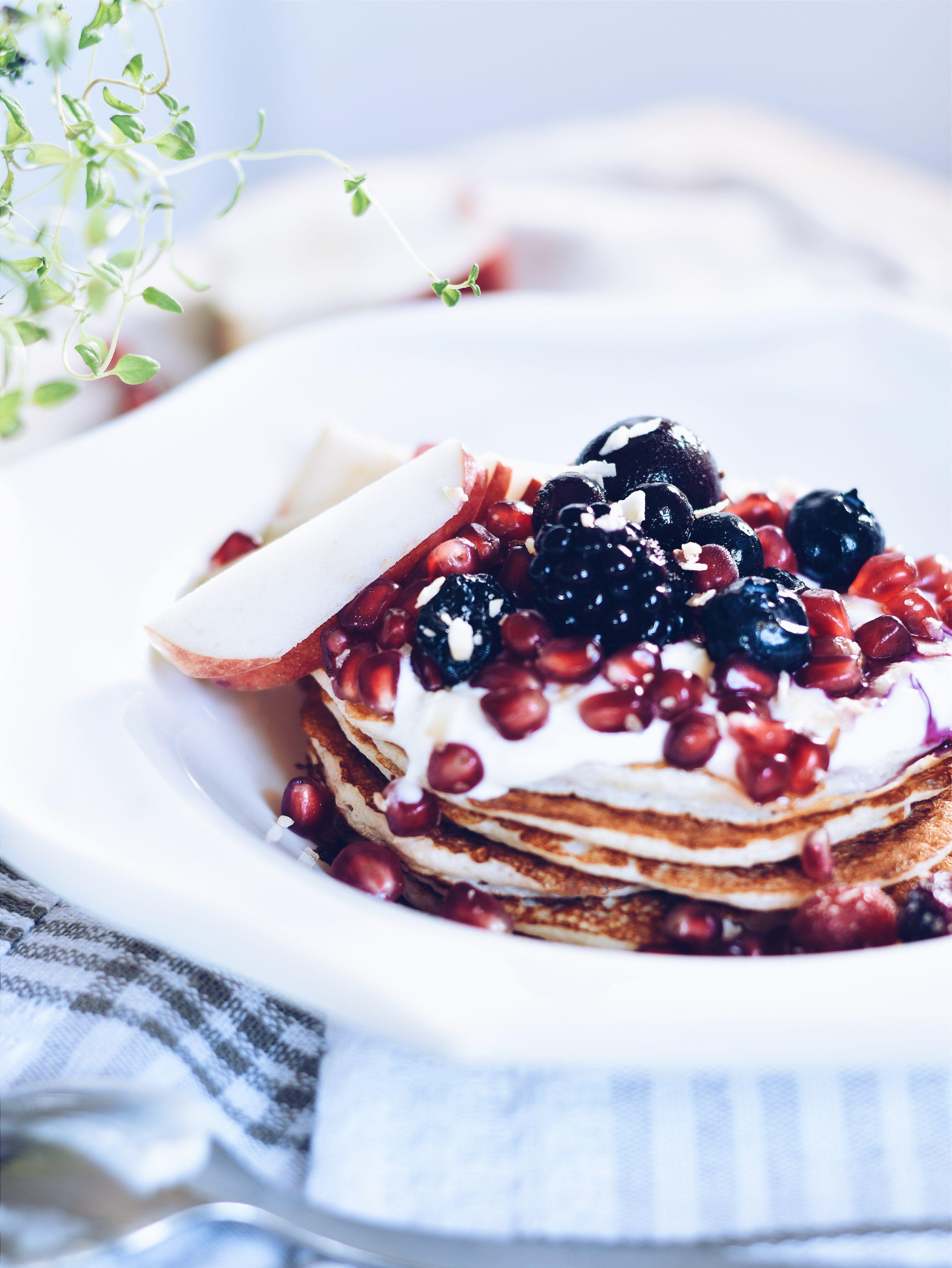Crêpes protéinées trois ingrédients / Three ingredients protein pancakes | cuisinedopamine.com ...