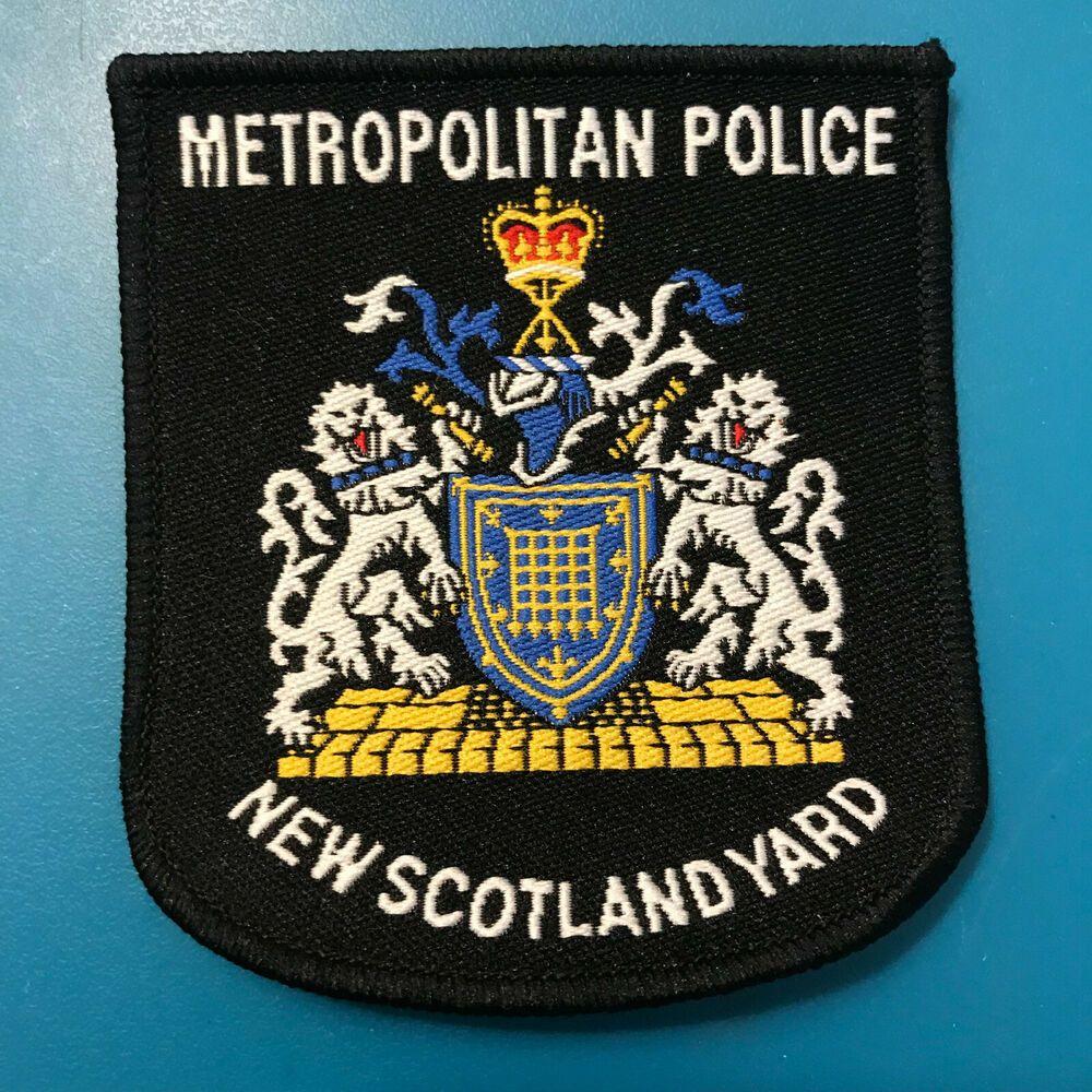 New Scotland Yard Metropolitan Police London England United Kingdom Uk Patch Scotland Yard Police Police Patches