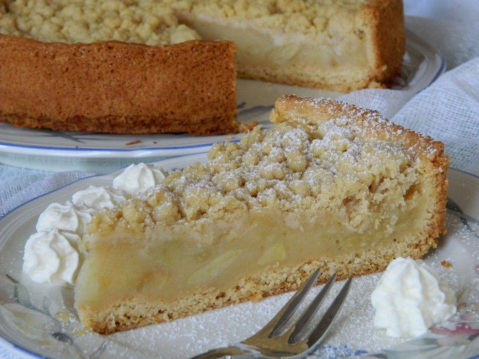 Apfelmus - Vanillepudding - Kuchen von sabilda | Chefkoch