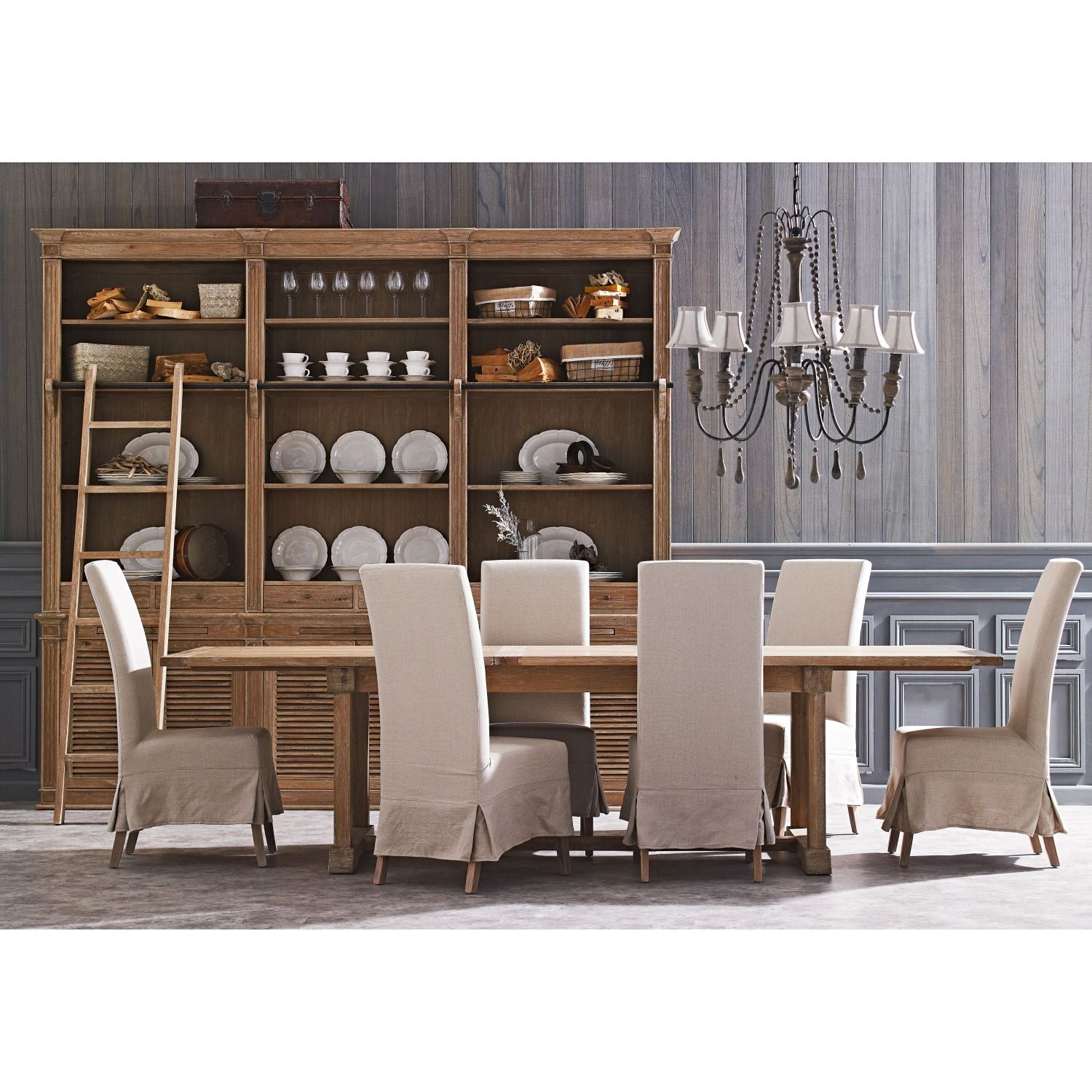 Buckingham extension dining table from domayne online for Dining room extension ideas