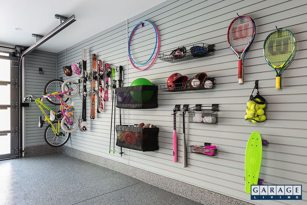 Our Pvc Slatwall Panels Help You Find More Space In Garage