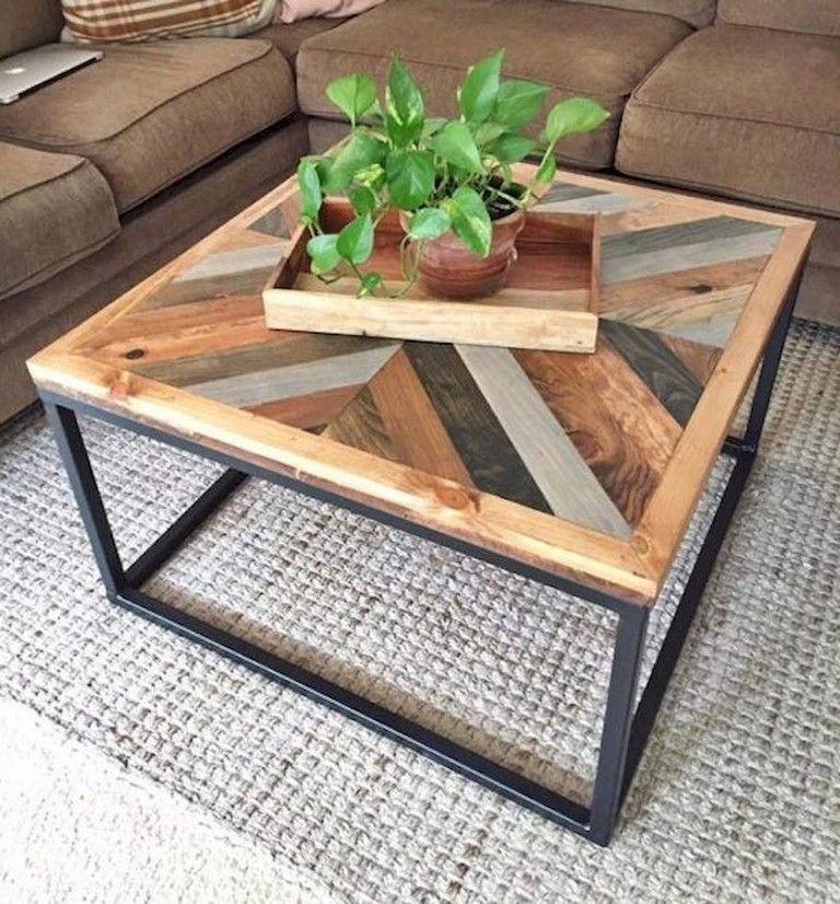 27+ Cool Inspiring DIY Rustic Coffee Table Ideas Remodel Furniture