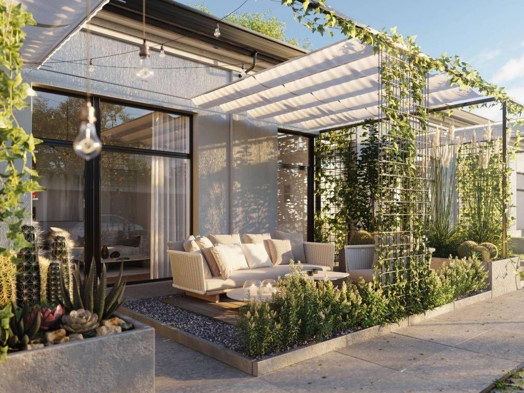 Vendita Appartamento Milano Bilocale In Piazza Giuseppe Nuovo Piano Terra Posto Auto Terr Nel 2020 Disegno Della Terrazza Terrazza Con Giardino Design Per Patio