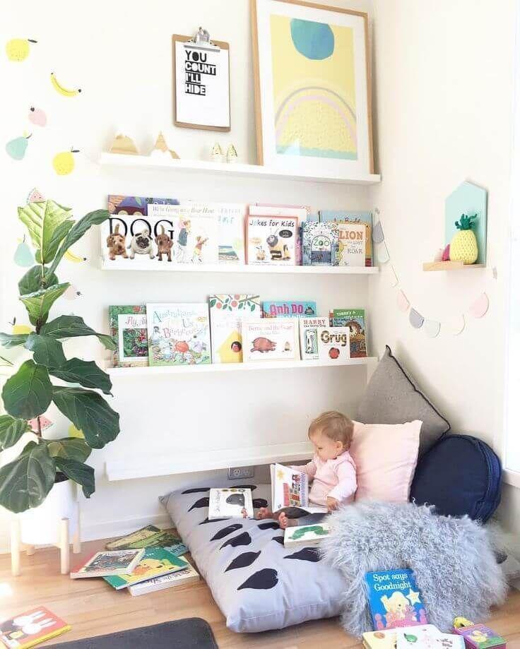 Más de 30 ideas de decoración elegantes y elegantes para habitaciones infantiles - para niñas...
