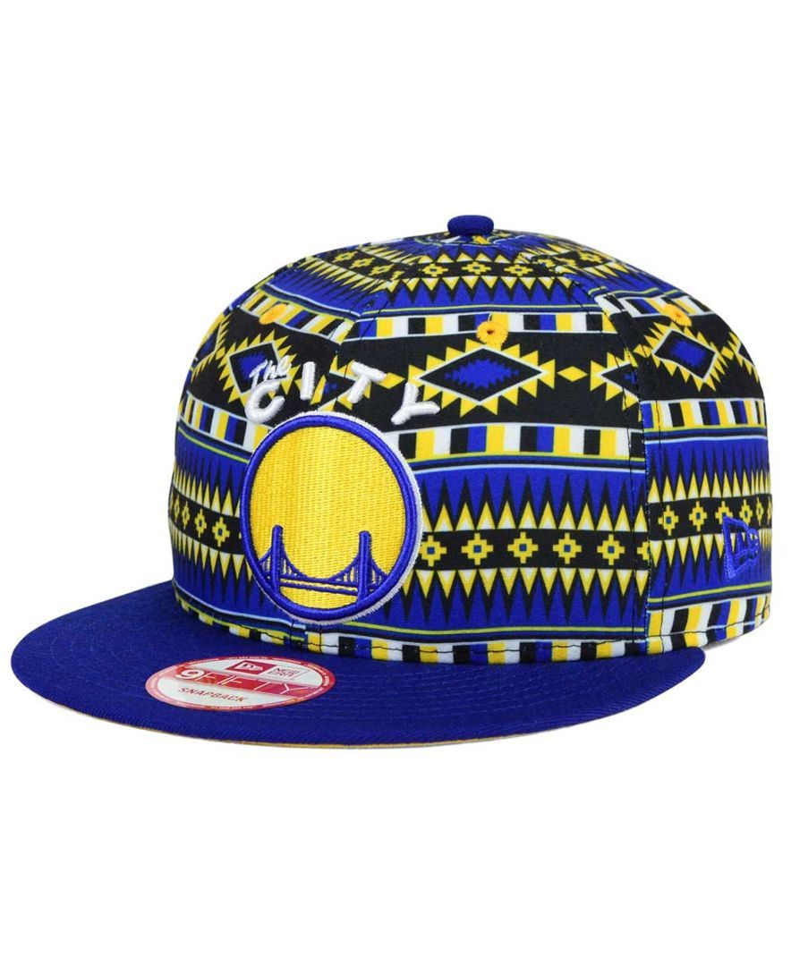 292dc239689ee New Era Golden State Warriors Hwc Tri-All Print 9FIFTY Snapback Cap ...