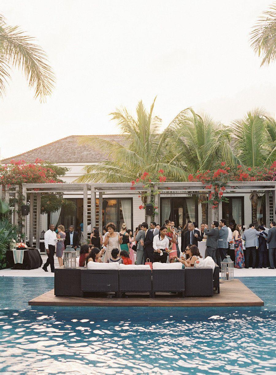 Beach wedding reception intimate - Wedding in Turks and Cacios decoration  ideas   Beach Wedding Decorations Grace Bay Cliub   Brilliant Blog    Pinterest ...