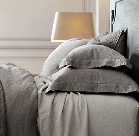 Belgian Linen sheets. If I could afford them, I'd only sleep in linen sheets.