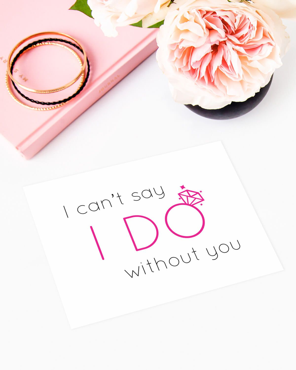 Party Proposal Cool This Cute Bridal Party Proposal Card Asks The Girls In Your Life To .