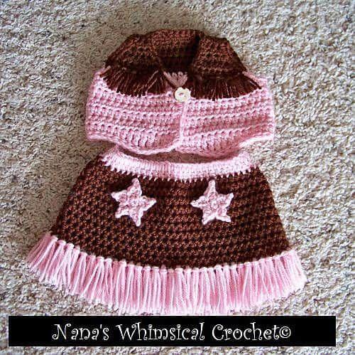 Crochet Cowboy Outfit Pattern Free Video Tutorial Crochet Cowboy