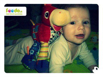 Malá Šarlotka s Ferdom :)