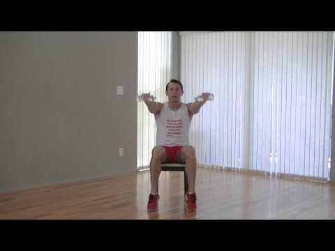 17 min chair exercise for seniors  beginners  hasfit