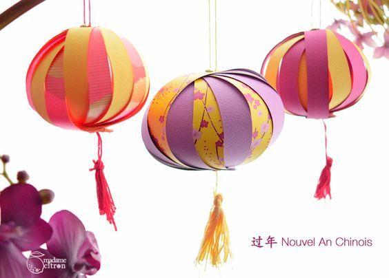 Nouvel an chinois 2017 d coration diy gourmand - Decoration nouvel an chinois ...