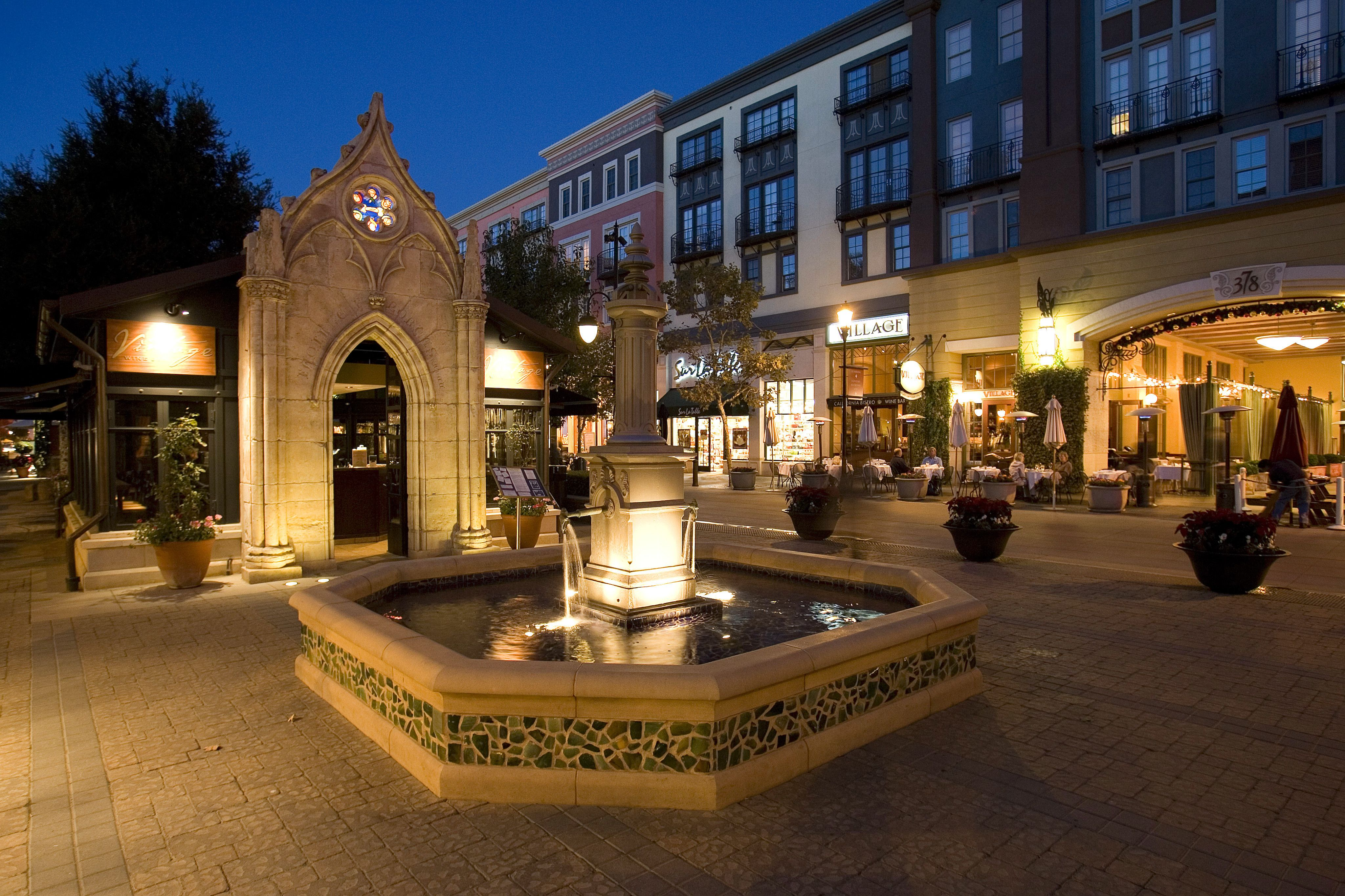 Santana Row in San Jose is not just your ordinary outdoor shopping ...