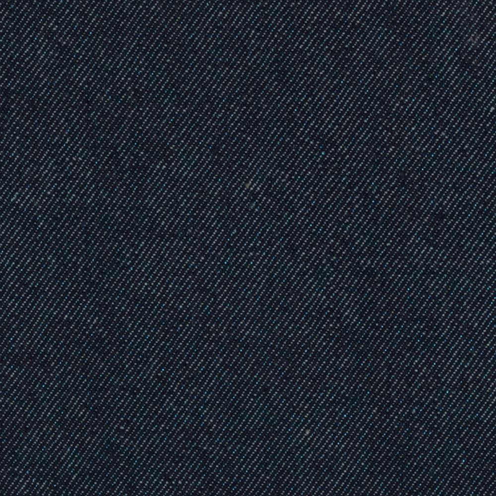 Stretch Sparkle Denim Navy Turquoise Client 2