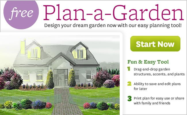 Free Interactive Garden Design Tool   No Software Needed! Plan A Garden    BHG.com   Plan A Garden Lets You Design Anything From A Patio Side  Container ...