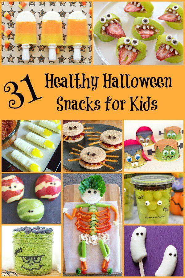 Healthy Halloween Snacks   Healthy halloween snacks, Healthy ...