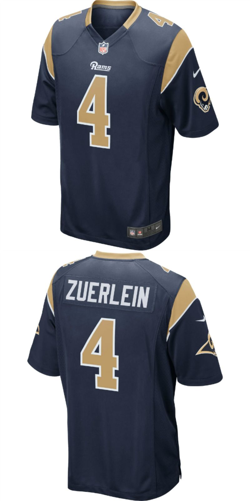 size 40 90a35 9cc8f UP TO 70% OFF. Greg Zuerlein Los Angeles Rams Nike Game ...
