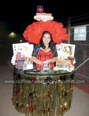 Coolest Homemade Las Vegas Costume 2 & Coolest Homemade Las Vegas Costume | Costumes and Halloween costumes