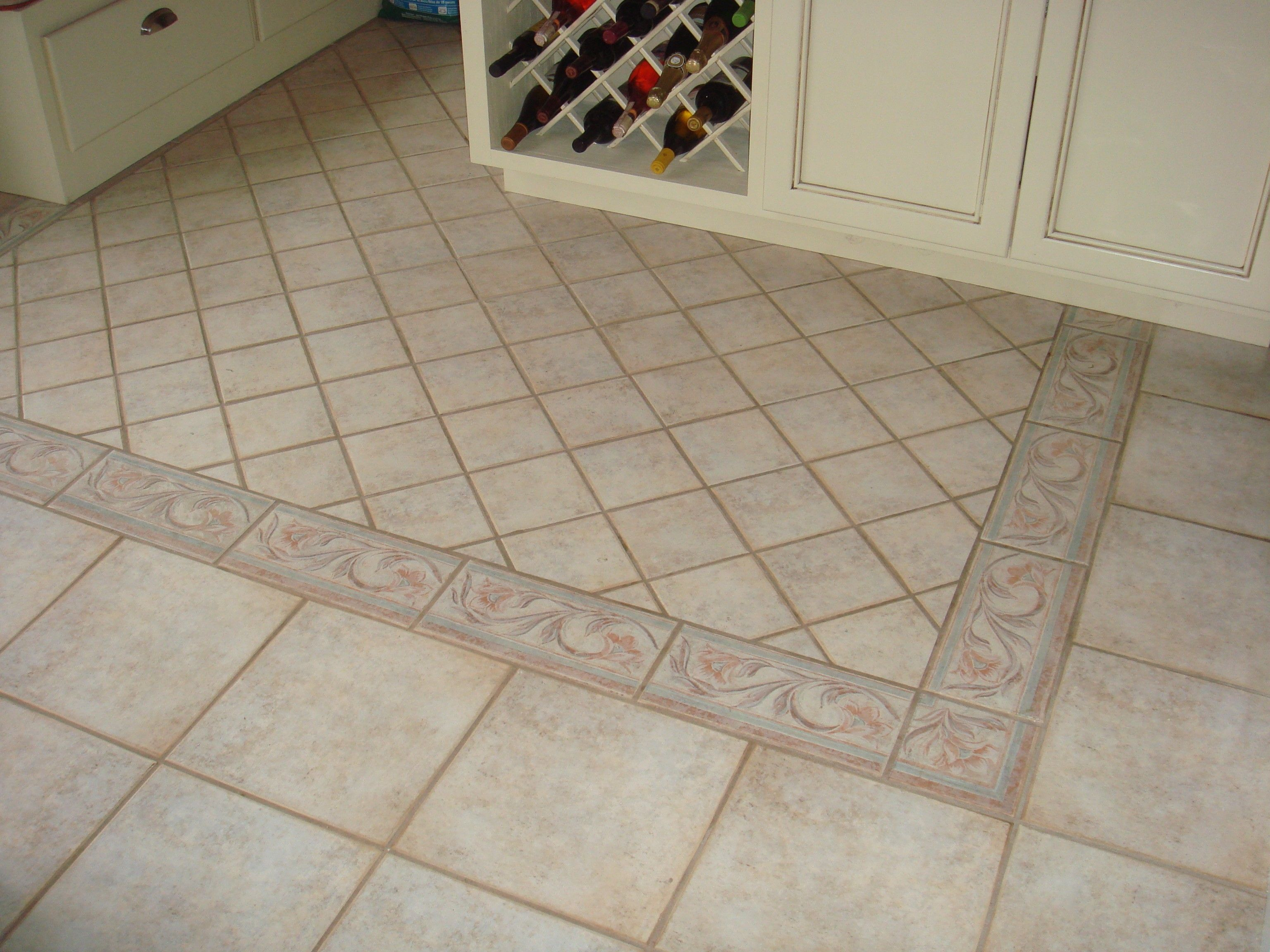Ceramic Tile Floor Design Ideas