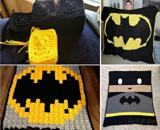 Batman Crochet Projects The Very Best Collection | Nietos y Tejido