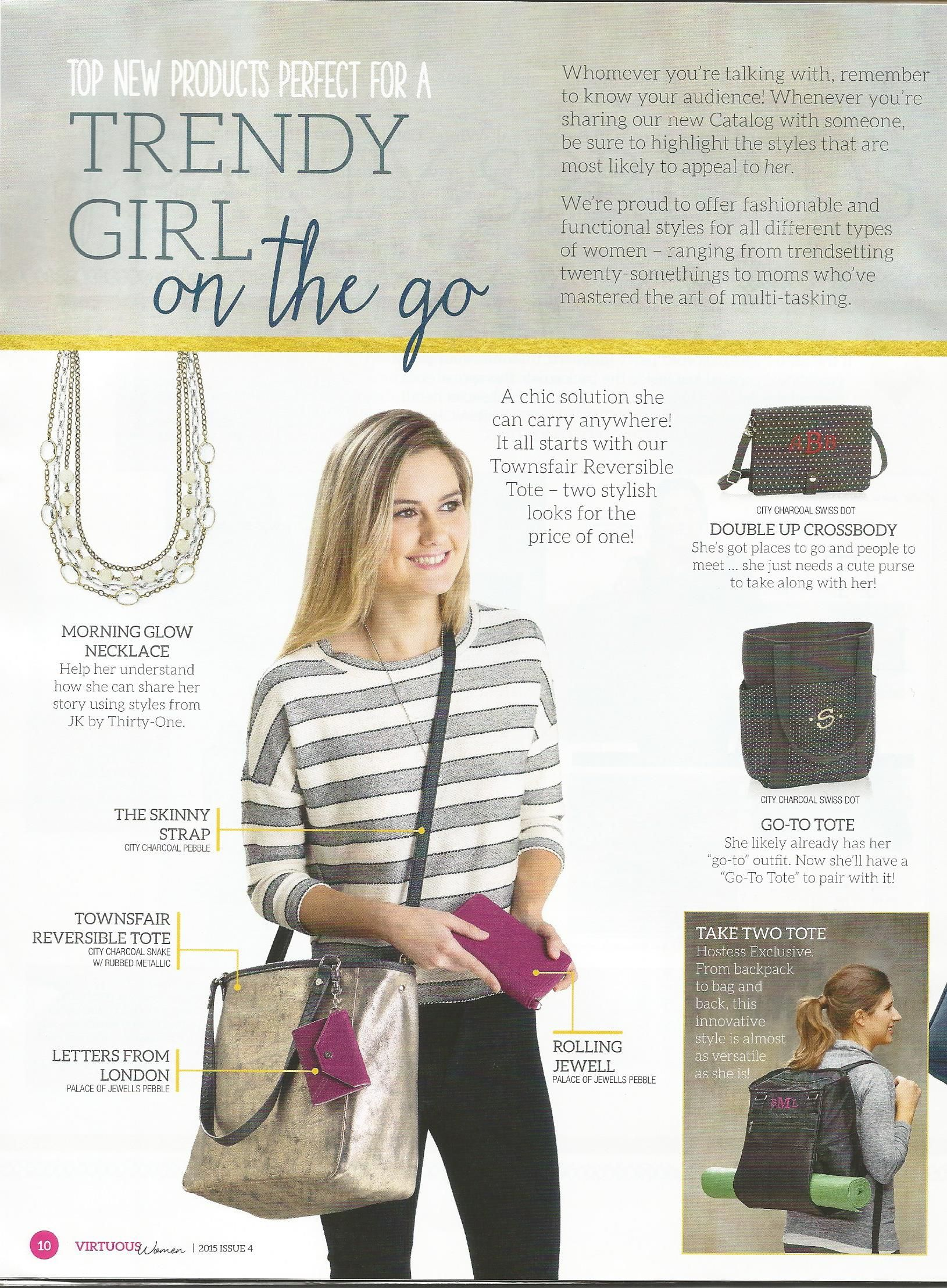 d87817b2cd4c Thirty One Fall 2015 collections for the trendy girl on the go ...