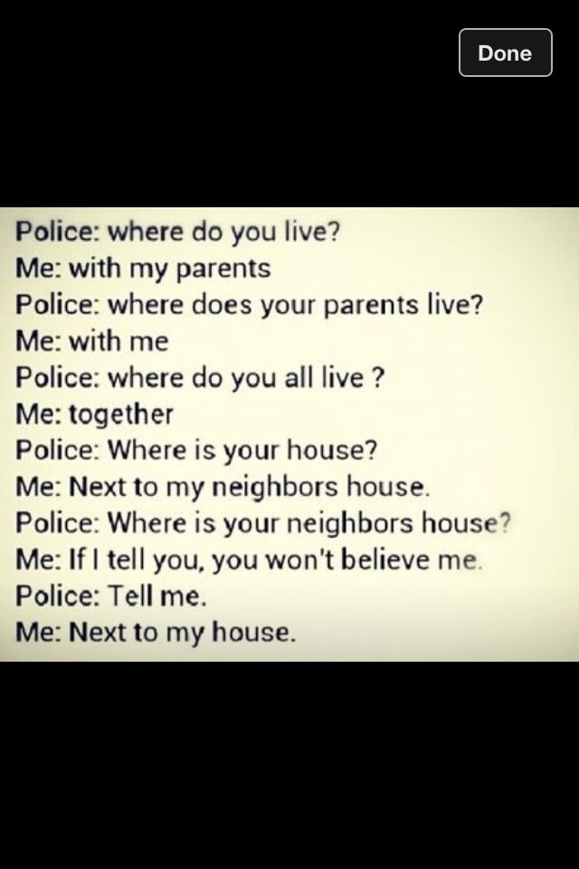 ~•How to annoy a cop when you are getting arrested ...(you should try it sometime)•~
