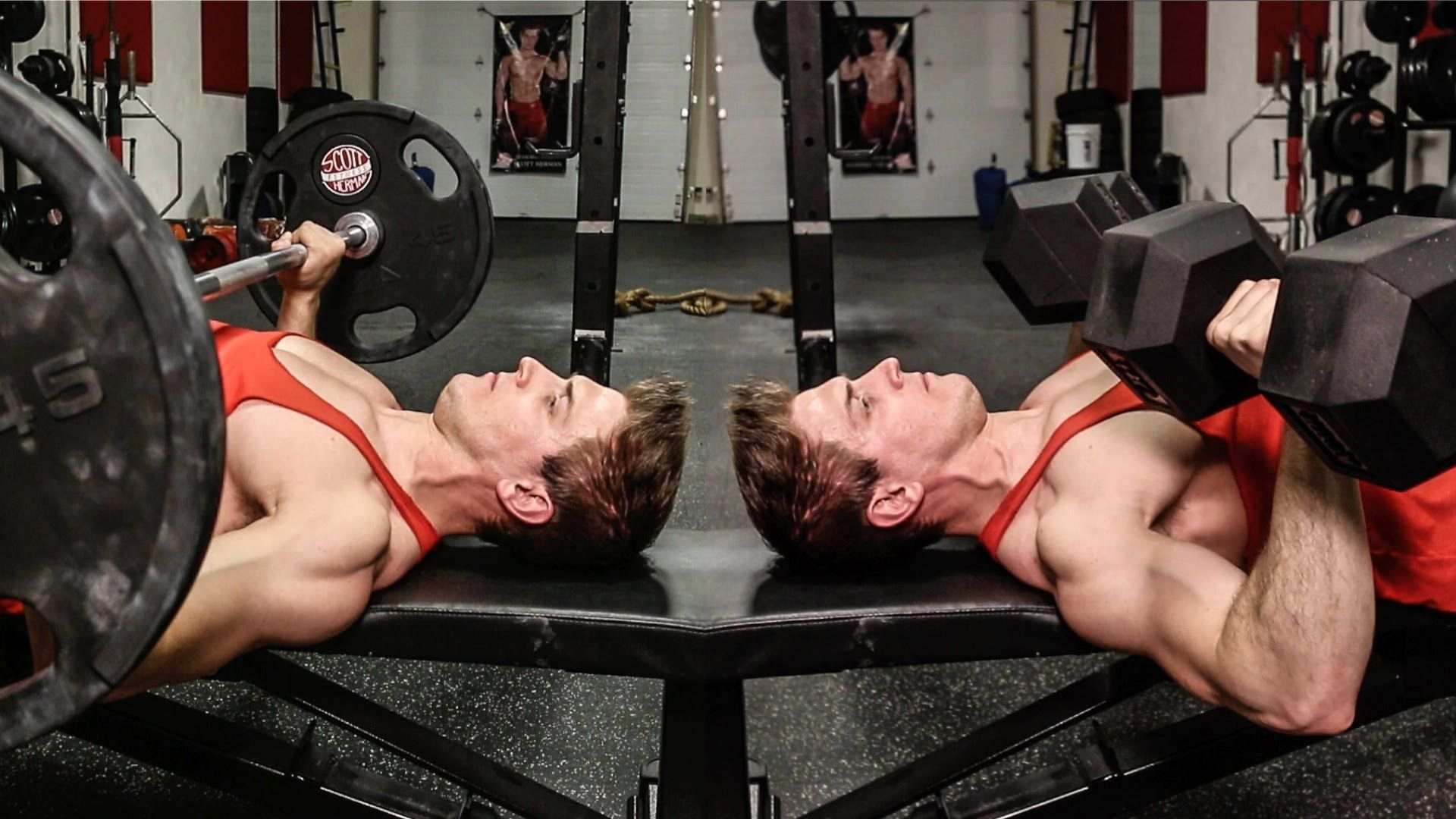 How To Gain Strength In Bench Press Part - 39: Hereu0027s An Easy Way To Make The Bench Press More Shoulder-friendly And Just  As Effective.