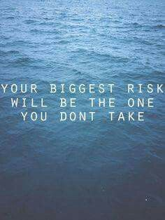 Biggest risk....
