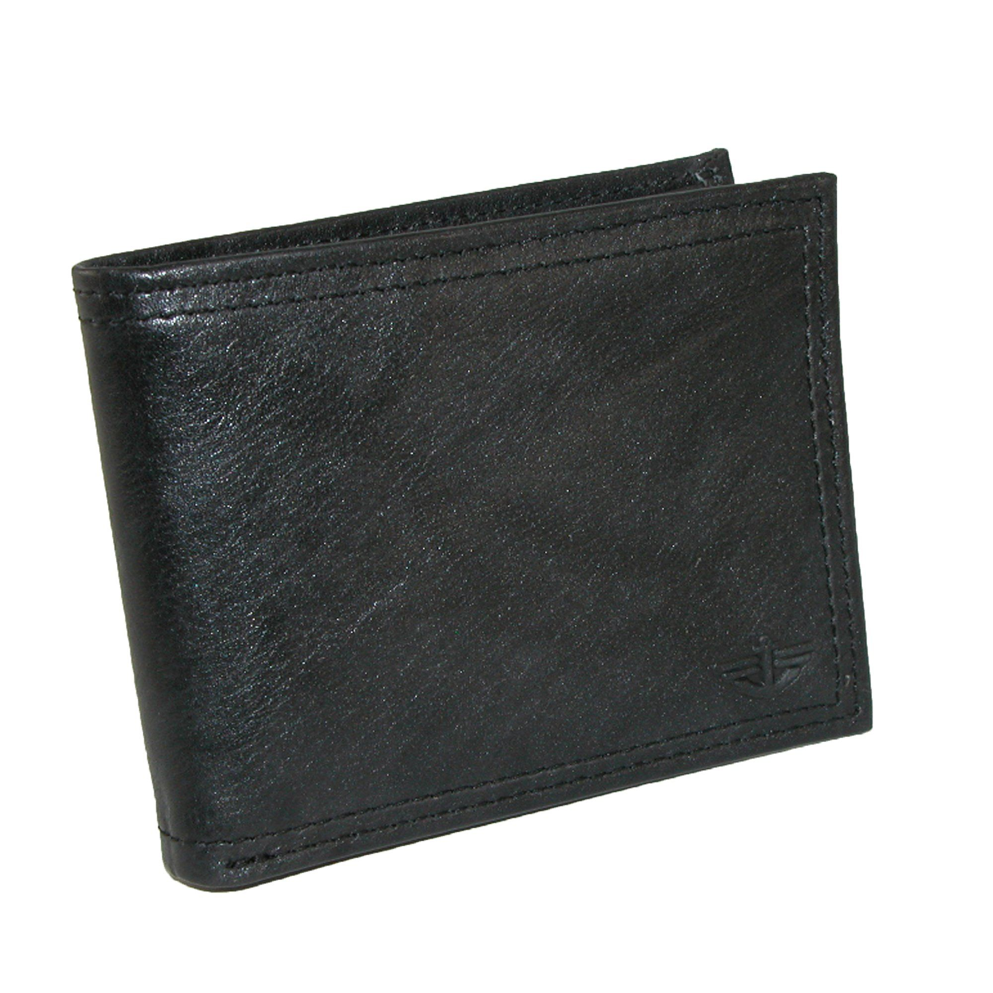 Dockers Men's Leather Pocketmate Billfold Wallet