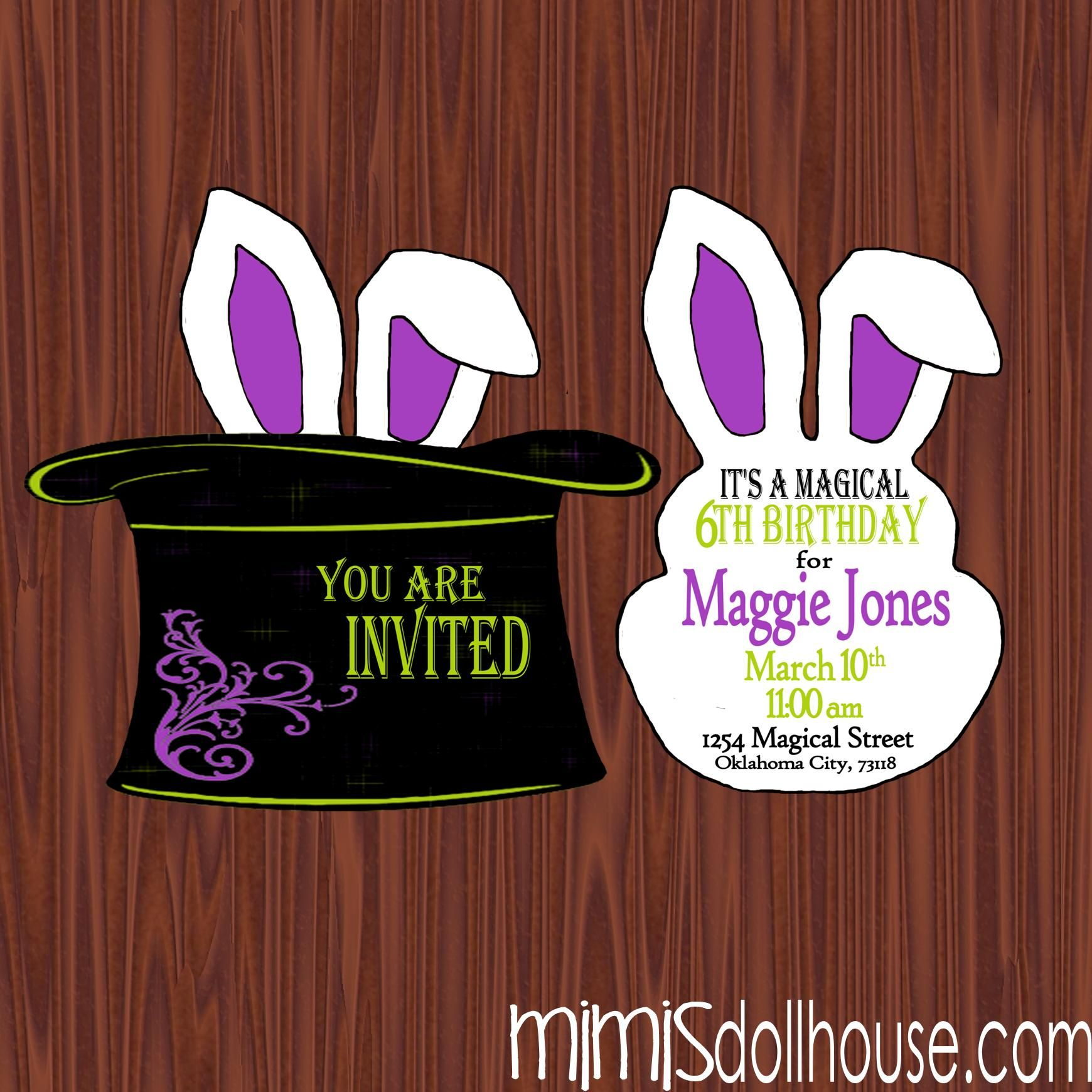 magic party - Cerca con Google | bunny party | Pinterest | Magic ...