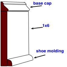 Wood Trim Baseboard Design Ideas Baseboard Molding Baseboards Baseboard Trim
