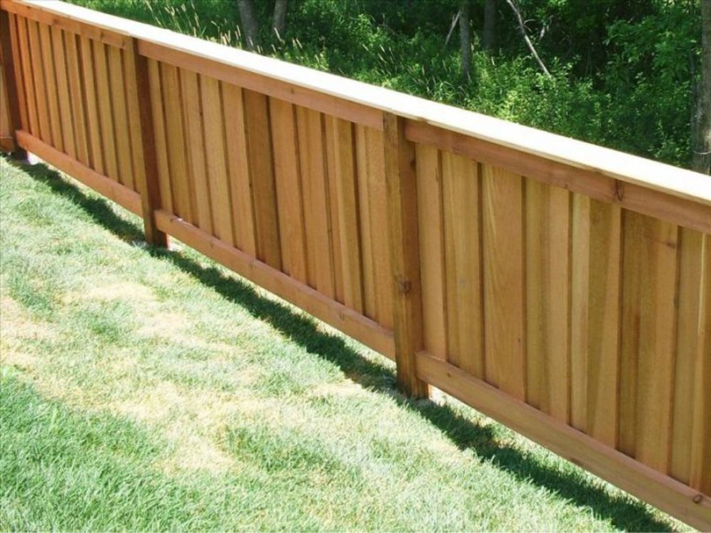 4 Foot High Fence Panels Wood Picket Dogeared Google Search Wood Fence Design Fence Design Fence Panels