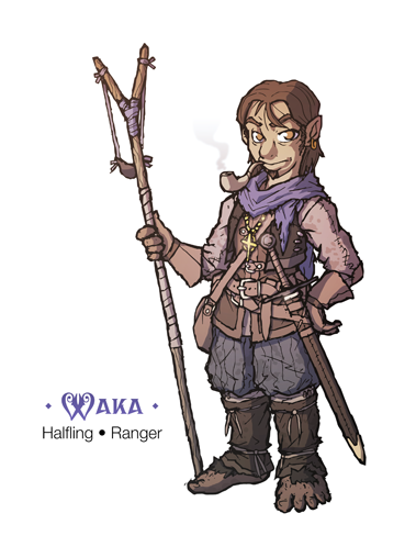 Halfling Ranger Pathfinder Characters