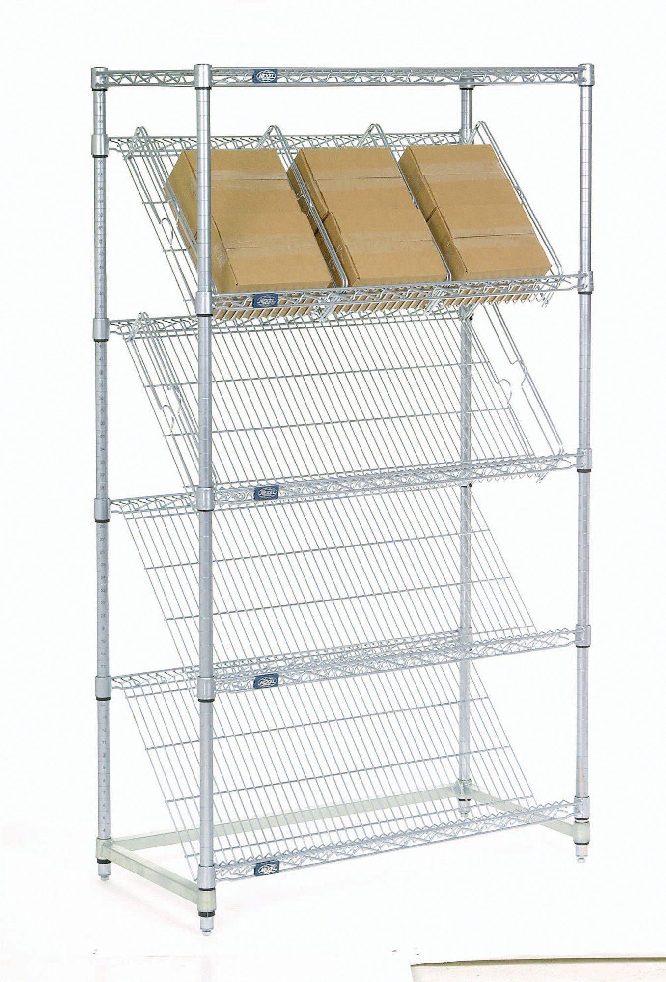Slanted shelf products pinterest shelves divider and window