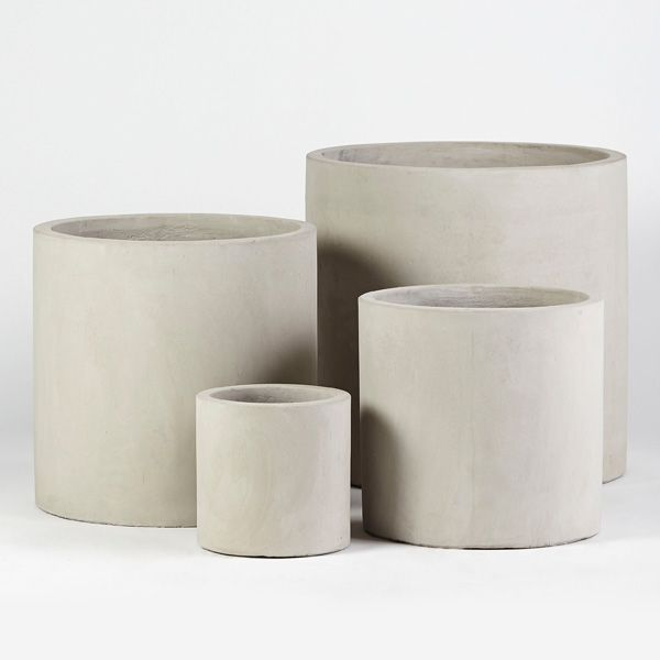 Frankie Choob Range Concrete Grey | Garden Pots | Pot Plants | Flower Pots  | Garden