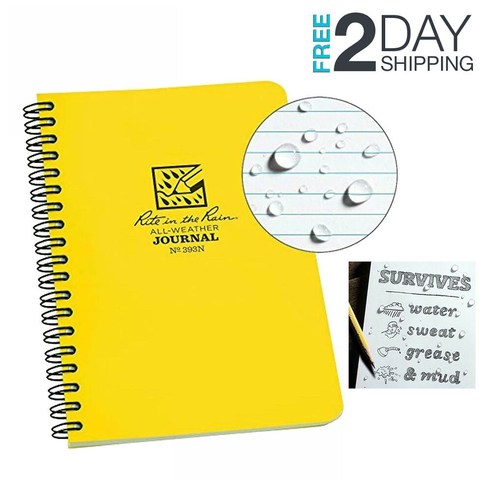 """Our 4.625"""" X 7"""" Side-spiral Notebook Is Fully Prepared For"""