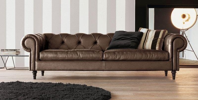 Padovano mobili ~ Divano classico pelle marrone padova divani pinterest pelle
