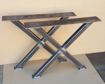 Trestle Table Legs Heavy Duty Sy Metal By Dvametal