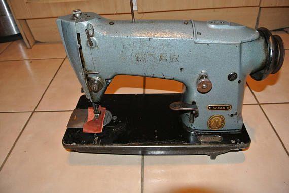 Vintage Singer 40K40 Industrial Sewing Machine Antique Antiques Magnificent Antique Industrial Sewing Machine