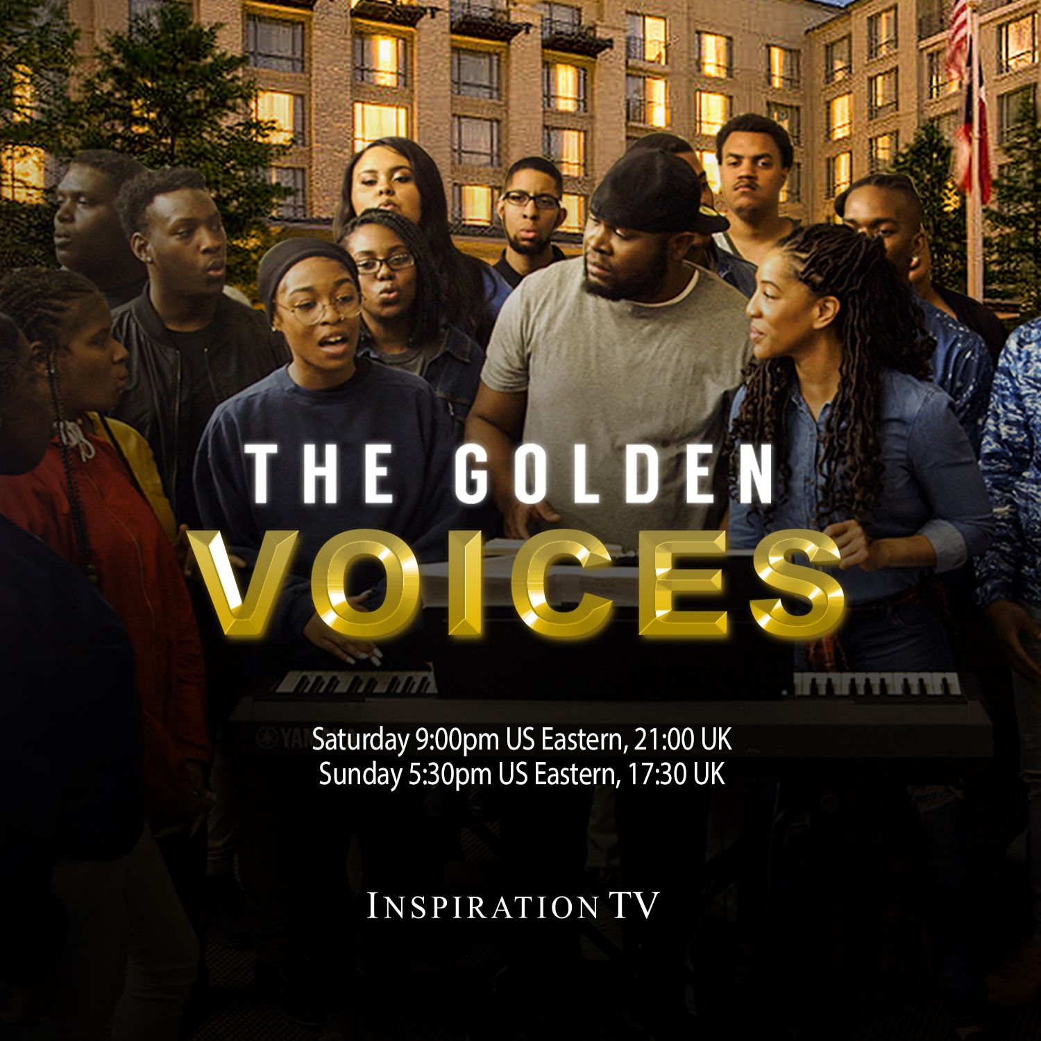 Join Us For The Premiere Of The Golden Voices On Inspiration Tv Airing Saturday January 2nd At 9p Us Et 21 0 Tv Programmes Christian College Tv Network