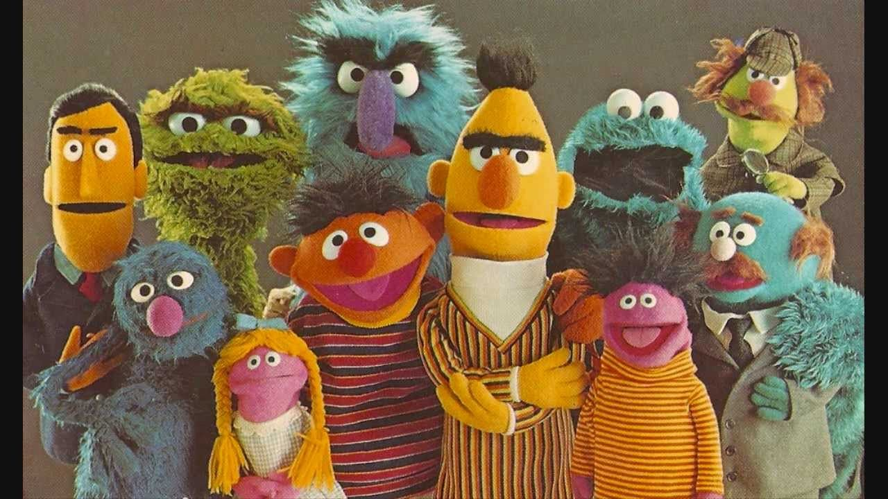 The Cast Of Sesame Street When I Was A Kid In The 7039s